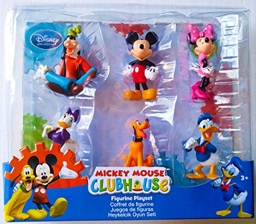 a609e1dc09e Disney Collection Mickey Mouse Clubhouse 6 Piece Figurine Playset or Cake  Toppers Figure Set - Buy Online in UAE.