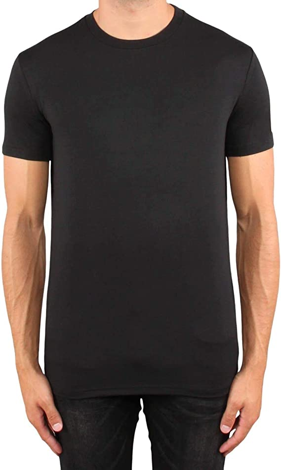 001_m T Shirt, Black, M: Amazon.co.uk