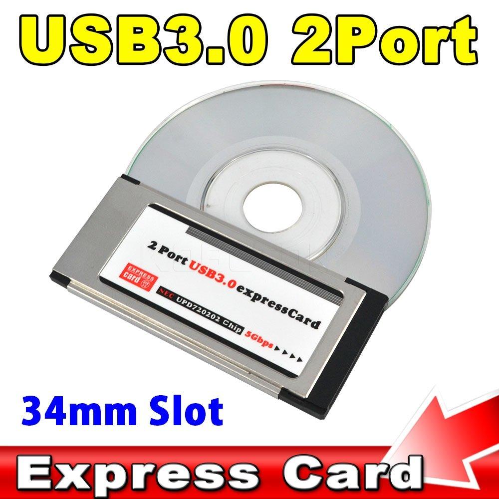 Ryrty(TM) Tarjeta PCI Express USB 3.0 ExpressCard a 2 ...