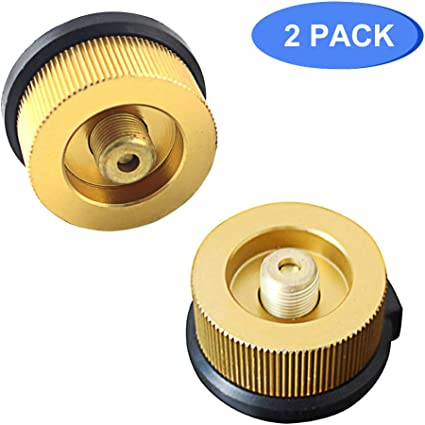 Camping Stove Refill Adapter New Picnic Butane Canister Converter S