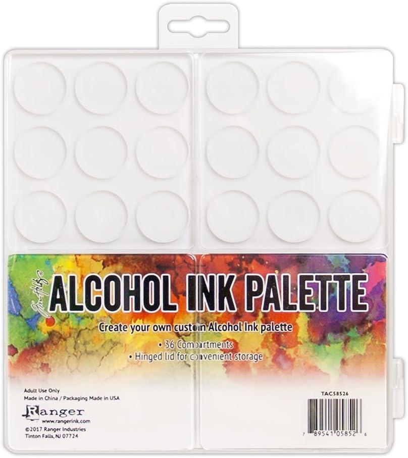 Ranger Tim Holtz Alcohol Ink Palette, Multicolor