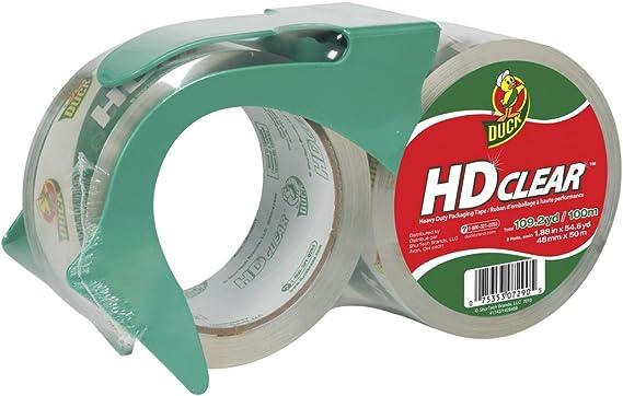 1.88 Inch x 54.6... Details about  /Duck HD Clear Heavy Duty Packaging Tape Refill 4 Rolls