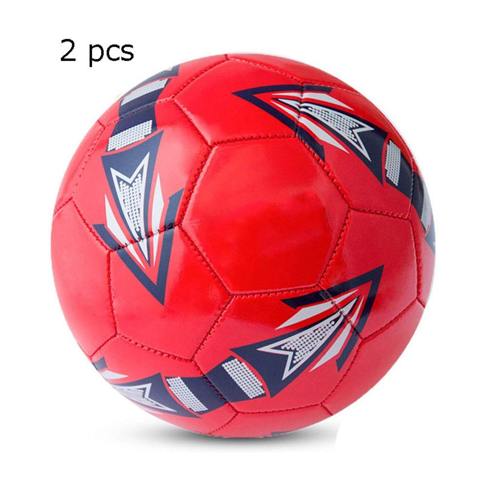 Jajx-os Kids Toys Soccer Children's Primary School Girls Boys Soccer Ball Adult Indoor and Outdoor Training Competition Football Official Size 5 4 for Outdoor Sport (Color : C1, Size : 4) by Jajx-os