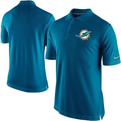 Para hombre Nike NFL Miami Dolphins de fútbol americano polo golf ...