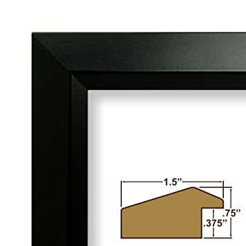 Amazon.com - 14x36 Picture / Poster Frame, Smooth Finish, 1.5\