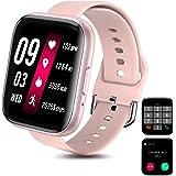 Smartwatch Pulsera Inteligente, Odar Reloj Inteligente Deportivo, Reloj Deportivo Pantalla Táctil Impermeable IP67 Monitores