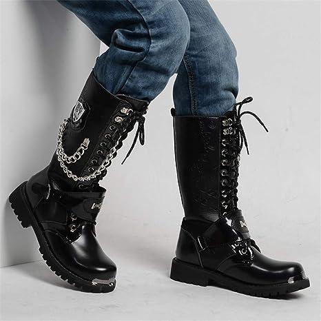 Herren Martin Boot Britische Mode Wasserdichte Hohe Stiefel