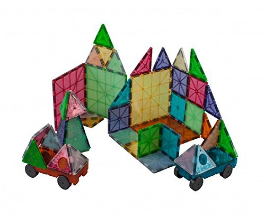 Amazoncom Magna Tiles FROST Colors 50pc Grand