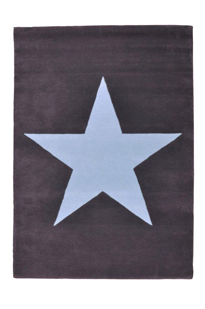 Lorena Canals WS-DGA Wolle Stern, dunkel grau/blau