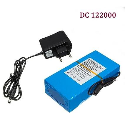 Eleoption 122000 - Batería de alta calidad, CC, 12 V, potente: 20000