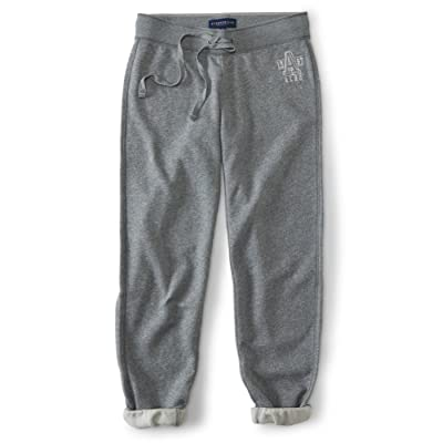 Aeropostale Womens Classic Cinch Casual Sweatpants
