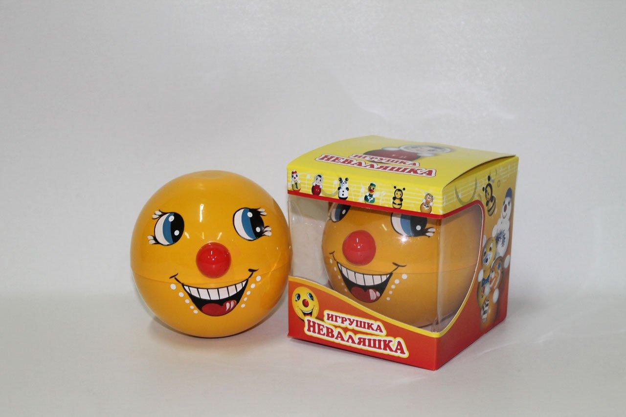 タンブラーおもちゃRoly - Poly赤ちゃんおもちゃKolobok 4.7