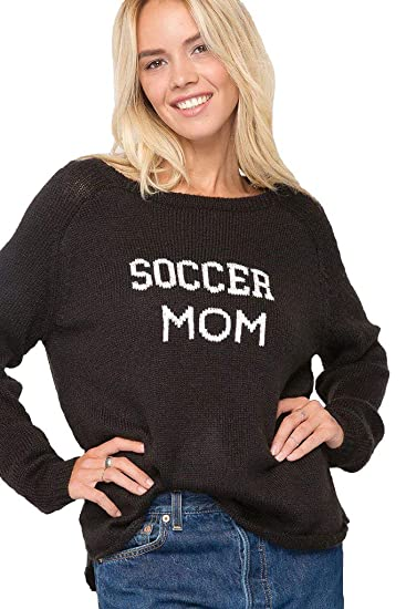 Wooden Ships Soccer Mom Crewneck Xssm Blackpure Snow At Amazon