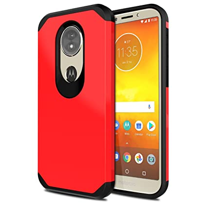 huge discount c7204 36430 Moto G6 Play Case [Not Moto G6], OEAGO Hybrid Shockproof Drop Protection  Impact Rugged Heavy Duty Dual Layer Case Armor Cover for Motorola Moto G6  ...