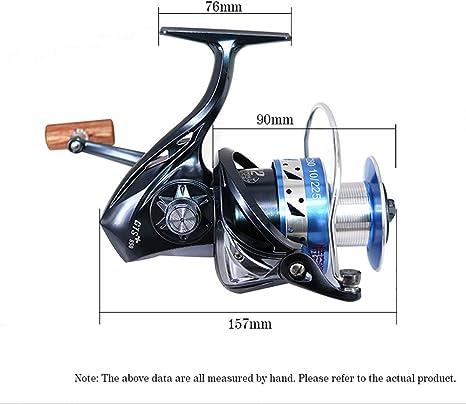 SXC Carrete De Pesca 4.6: 1 Carretes De Hilado De Pesca 11+1BB Fly ...