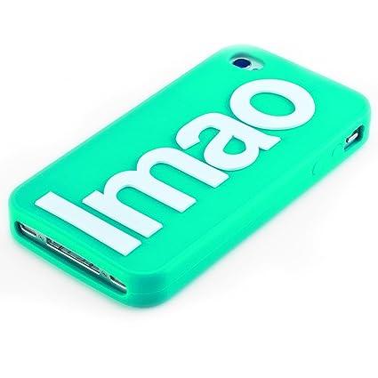 Boxer Gifts - Carcasa para iPhone 4/4s, diseño con texto Lmao