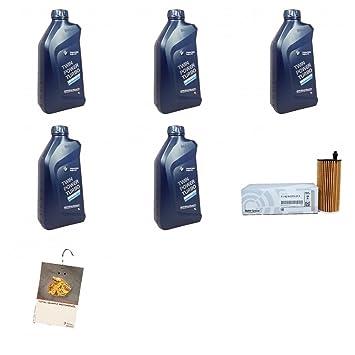 BMW Kit de cambio de aceite para motor Bmw F20 21 23 5 L + filtro de aceite Origine: Amazon.es: Coche y moto