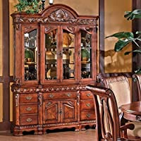 Steve Silver Company Harmony Buffet and Hutch in Rich Cherry
