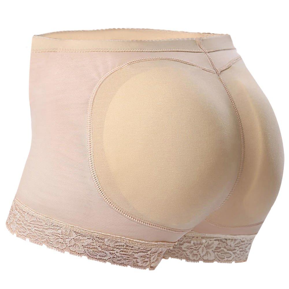 Everbellus Seamless Butt Lifter Shorts Padded Panties Enhancer Womens Underwear B07F