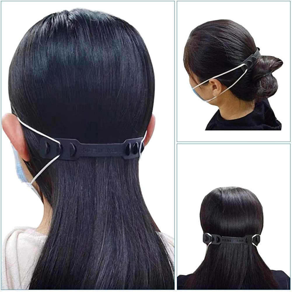Extension Ear Belt Compatible with All Kinds of Face Shape Jdomall 10Pcs Extension Ear Strap Hook