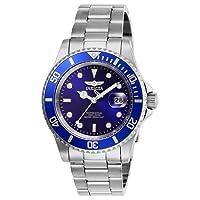 Men's Pro Diver Quartz Watch Stainless Steel Strap