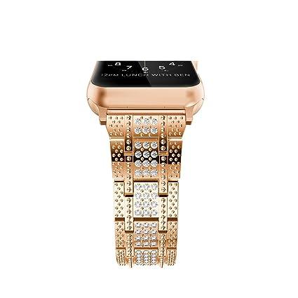Amazon.com: Correa para reloj inteligente, de acero ...