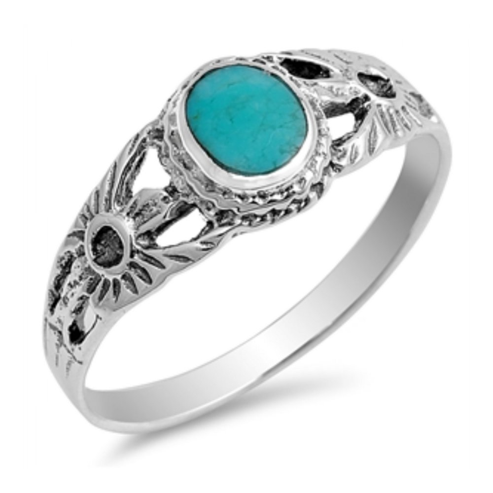 925 Sterling Silver Ring With Stone Glitzs 11853