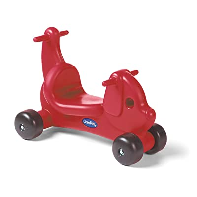 Careplay Ride-On Play Puppy Critter, Red : Childrens Ride Ons : Baby
