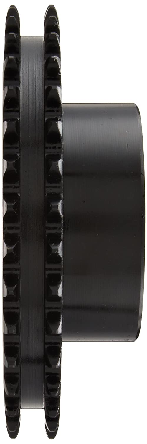 1 Stocked Bore Steel Browning D80B25 Minimum Bore Double Roller Chain Sprocket 2 Strands 25 Teeth 1 Stocked Bore Regal