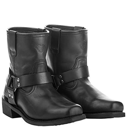 nice cheap the best latest Amazon.com: Highway 21 Spark Men's Low Motorcycle Boots Full ...