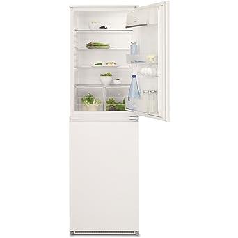 electrolux fridge freezer. electrolux enn2801aow 50-50 integrated fridge freezer
