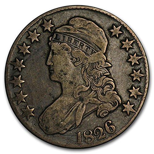 1826 Capped Bust Half Dollar VF Half Dollar Very Fine