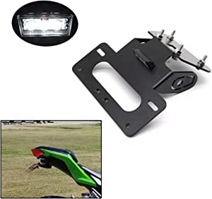 Xitomer Fender Eliminator,for 2013-2018 KAWASAKI Ninja300 Ninja250, EX300 EX250 2013-2018 Z250/ Z300 2013-2019 with LED License Plate Light, Compatible with OEM/Stock Turn Signal