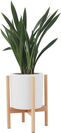 JYCRA Support de Plante, milieu du siècle en bois support de ...