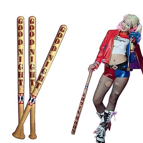Harley Quinn Bate de béisbol de madera, diseño de Batman ...
