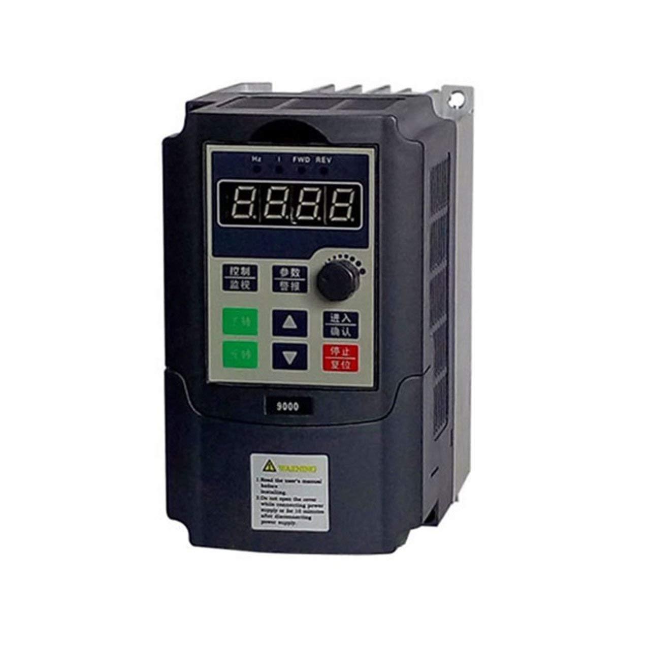 Mini Tragbare 0.75kw-G 220 V Einphasig Frequenzumrichter 220 V 3 Phasen Ausgang Frequenzumrichter Built-in Timer Jasnyfall