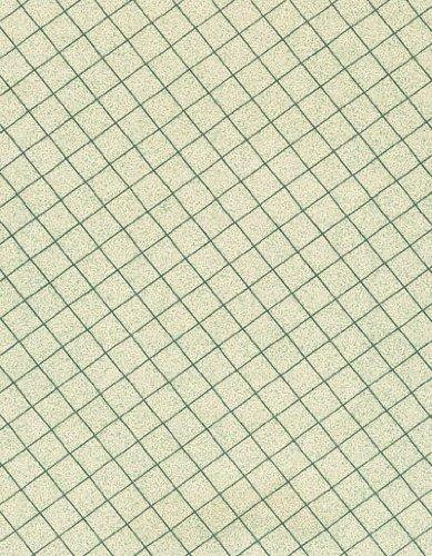 Subtle Windowpanes Series 9806 Silverpine Vinyl Tablecloth 54'' X 75' Roll
