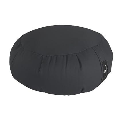 Amazon.com : Hugger Mugger Zafu Yoga Cushion - Gray : Sports ...