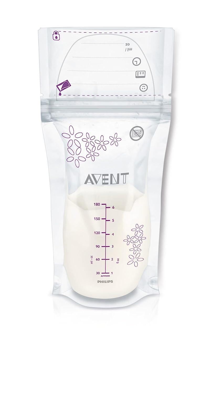 Philips Avent SCF Pack de bolsas para almacenaje de leche materna ml