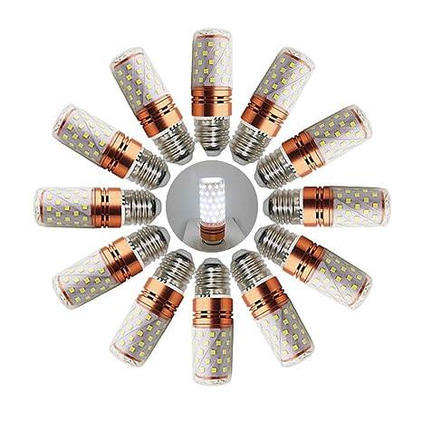 Bombillas LED de maíz de color blanco frío, 16 W, bombilla LED, mazorca