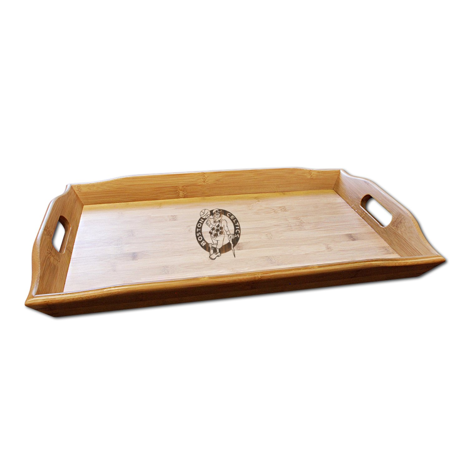 NBA Boston Celtics Bamboo Serving Tray by Coopersburg