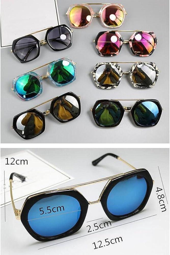 Blue Kids Fashion Sunglasses Childrens Sunglasses Anti-UV Sunglasses
