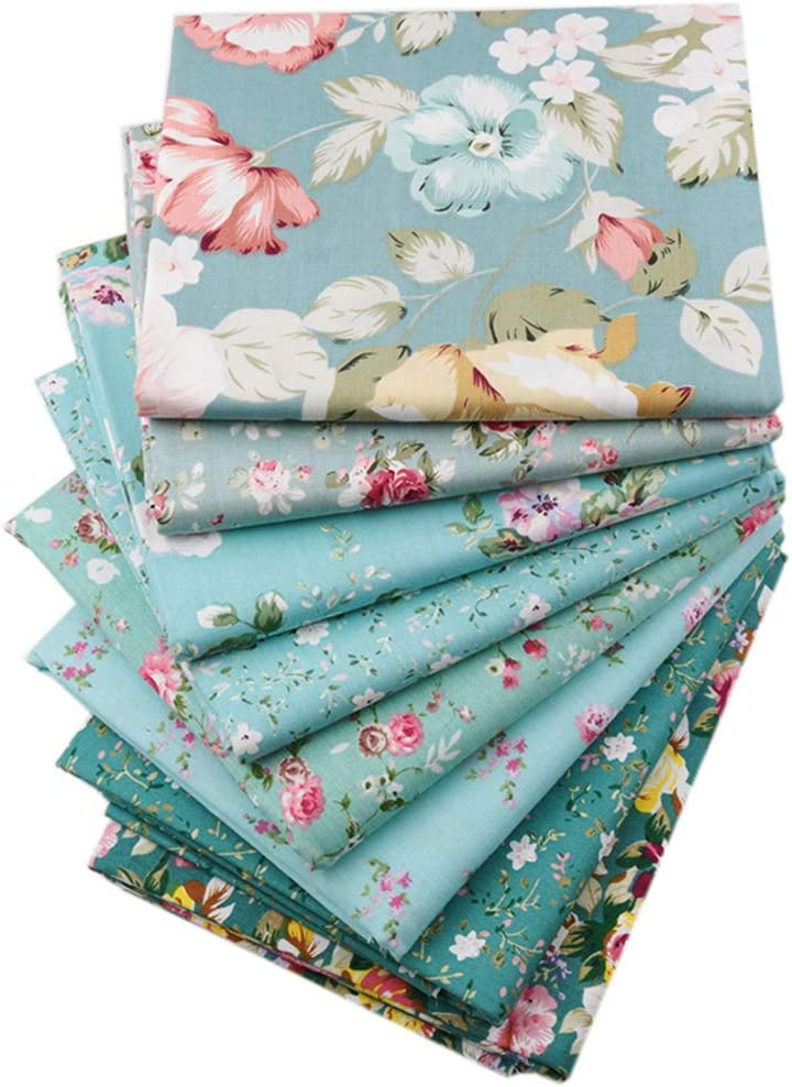 Floral Soleil Design 100/% Coton Fat Quarter Bundle 5 tissus Craft//Quilting