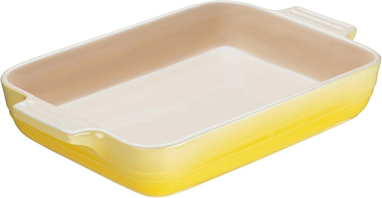 Gusseisen LE CREUSET AUFLAUFFORM 26 cm Citrus Gelb One Size