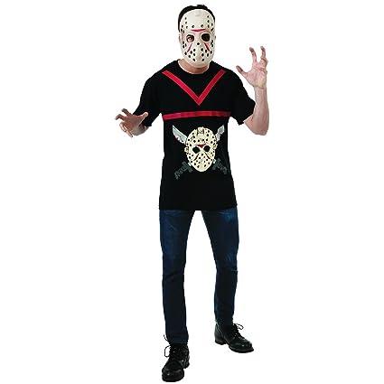 Kit disfraz de Jason Viernes 13 para hombre: Amazon.es ...
