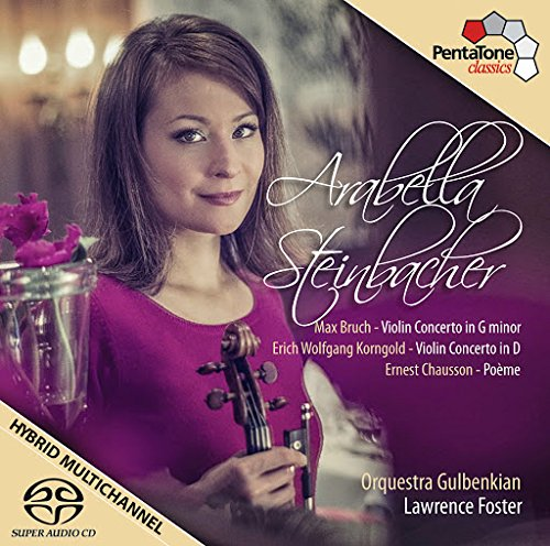 Bruch: Violin Concerto in G minor / Korngold: Violin Concerto in D / Chausson: Poème