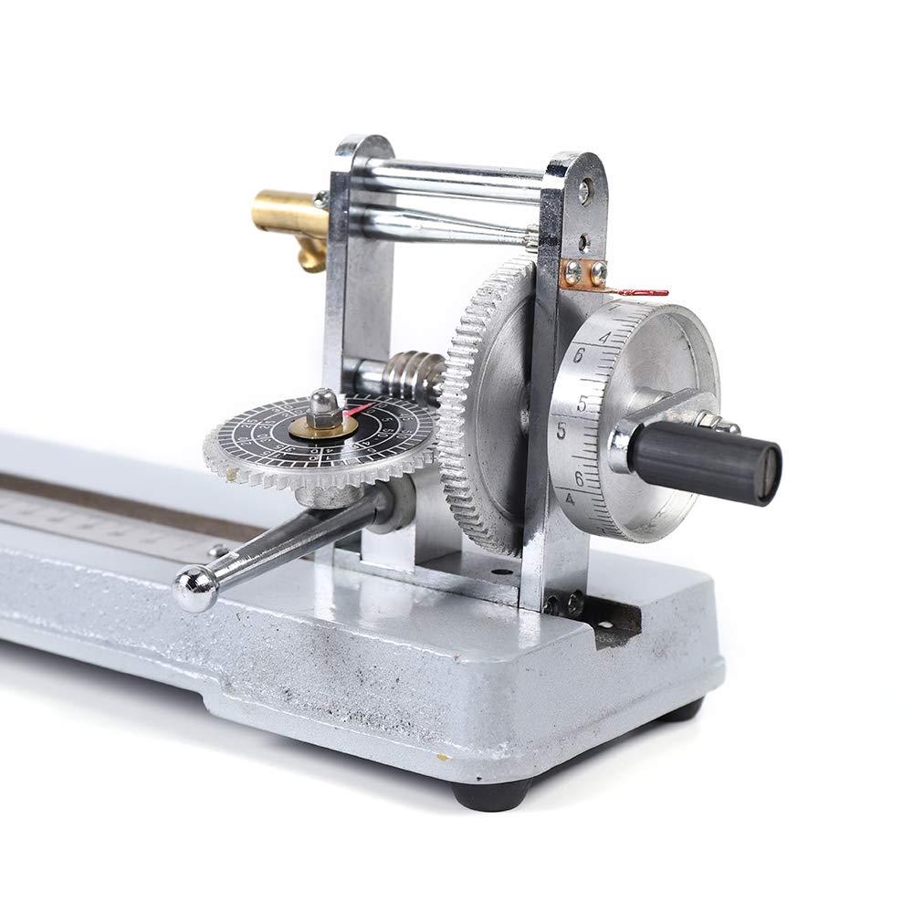 WINUS Manual Yarn Twist Tester Counter Fiber Textile Testing Machine Equipment for Cotton Wool Linen Silk US Stock