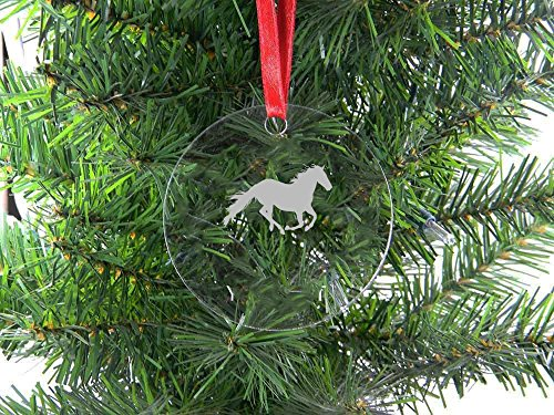 Christmas Horse Ornaments Amazoncom