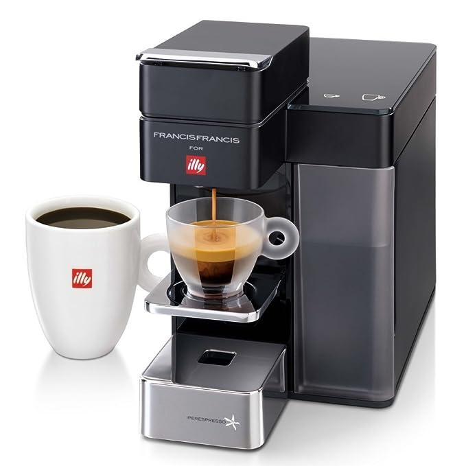 Illy 60204 Independiente Totalmente automática - Cafetera (Independiente, Cafetera de filtro, 0,9 L, Cápsula de café, Negro): Amazon.es: Hogar