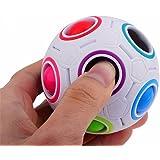kingko 2017 Pop Rainbow Magic Ball Plastic Cube Twist Puzzle Jouets pour Jouets éducatifs pour Enfants Adolescents Soulagement de Stress pour Adultes